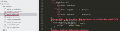emblog博客description描述自定义修改